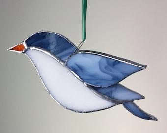 3D Stained Glass Bird Window, Ornament, Suncatcher