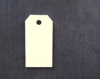 30 Manila/Cream Tags, Gift Tags, Party Favor Tags, Luggage Tags, Weddings, Showers