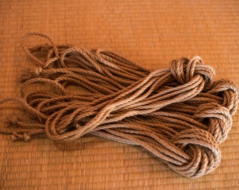 Beginner Jute Rope Kit, Untreated (4xRope) - Ogawa