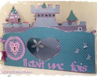 Photo album once upon a time a world of fairy that can display on a bedroom Dresser