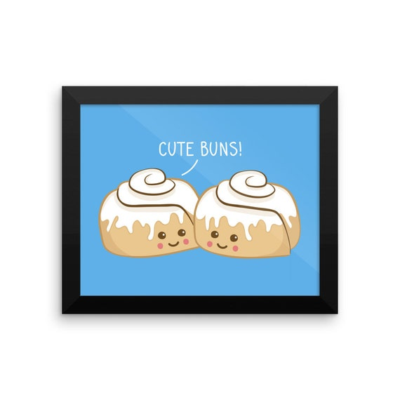Cute Buns! Framed Poster
