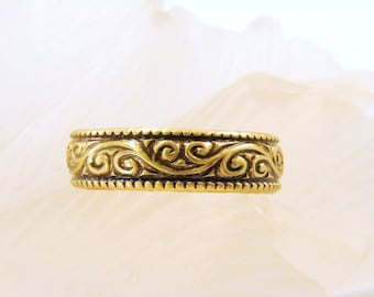Toe Ring - Available in brass or copper - any size