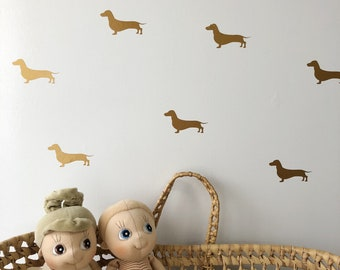 Dachshund Wall Decals