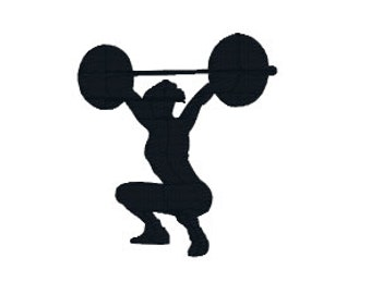 "BUY2GET1FREE - 2"", 2.5"", 3"", 4"", 5"" Weightlifting Woman Machine Embroidery Design, Lifting Weights, Women, Body Builder"