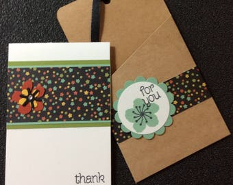 Thank you, Friendship, Handmade, stampin up, card