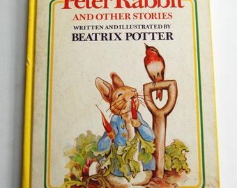 Vintage Children's Book, Peter Rabbit and Other Stories