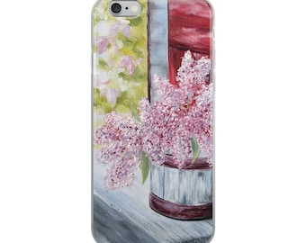 Lilac iPhone Case