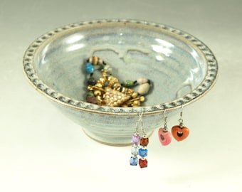 Jewelry bowl & earring holders apx 50 holes