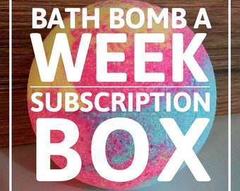 Bath Bomb Monthly Subscription Box (level 3)