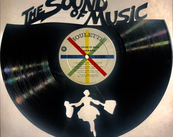 SOUND OF MUSIC Vinyl Record Wall Art