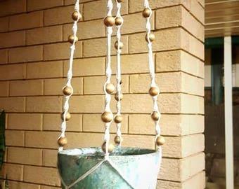 Handmade Macrame Pot Plant Hanger