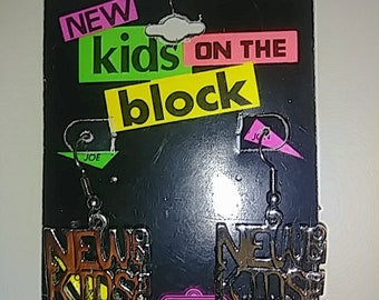 Vintage 1990 New Kids on the Block Earings