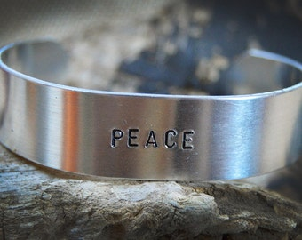 Aluminum 16mm cuff bracelet