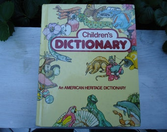 Vintage American Heritage Children's Dictionary