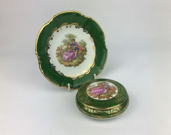 Limoges porcelain, limoges box, Limoges plate, porcelain box, porcelain plate, Art and Collectibles, french porcelain
