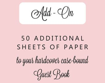 Guest Book Paper Add-on