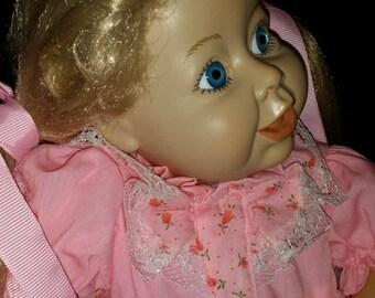Handmade Syndee Craft Doll Blonde