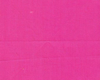 12 Precut 4 Inch Squares - Solid Hot Pink Cotton Fabric ~ Scrap Quilting ~ Piecing ~ Fun Projects