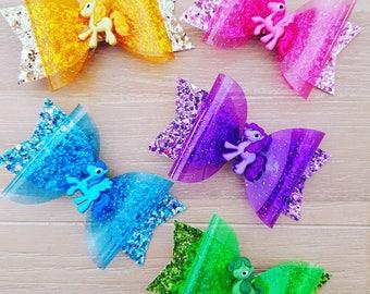 Rainbow Pony Bows