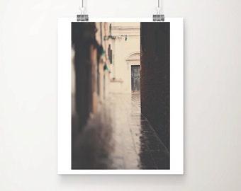 SALE venice photograph venice print travel photography venice decor italian decor green door photograph architecture photograph