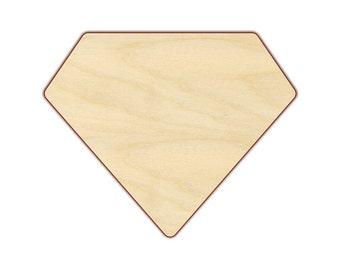 """Diamond 14""""-24"""" - Wood Cutout  - 170124"""
