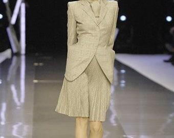 Skirt pleated midi Alexander McQueen