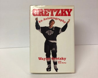 Gretzky an Autobiography by Wayne Gretzky with Rick Reilly 1990 First Edition