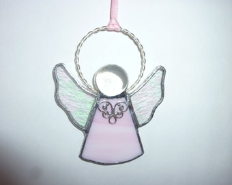 Stained glass an angel suncatcher
