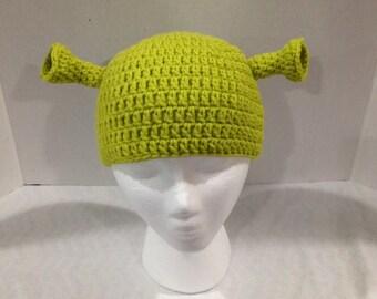 Shrek style Ogre hat