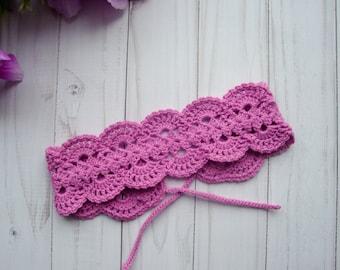 CROCHET HEADBAND PATTERN -Pattern Crochet Baby Headband -Crochet Pattern Baby Headband-Crochet Pattern