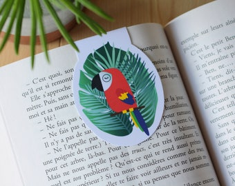 Tropical Birds / / 1 magnetic bookmark