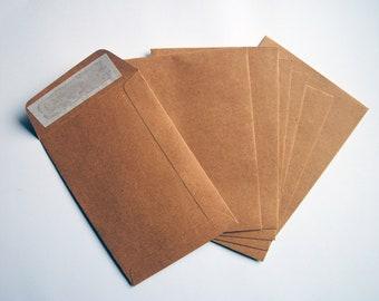 Envelopes, Kraft, Paper, Letter writing, Mail, Snailmail, Penpal, Letters, Present, Writing,C6