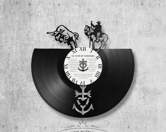 Vinyl 33 clock towers theme Camargue