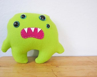 Juju the little monster- Lime Green