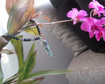 Crystal necklace unisex Buddhists jewelry for luck and calmness FREE SHIPPING By Red Bracelet on Etsy