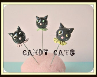 Candy Cat Pin Topper