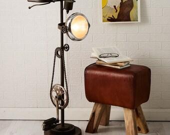 Upcycled Bike Lamp