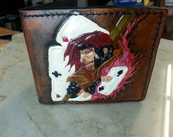 Gambit Flame Playing Cards Wallet