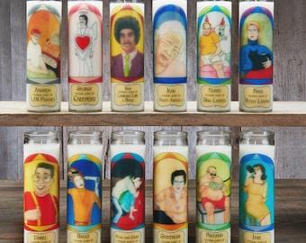 5 Prayer Candles - Mix and Match