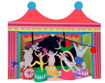 wini-tapp cut out and make circus