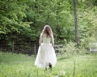 Wilma - vintage whimsical wedding dress