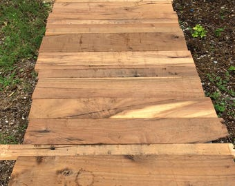 Reclaimed Walnut Planks