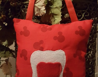 Disney inspired Tooth Fairy Pillow