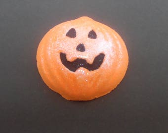 Halloween Bath Bomb, Pumpkin Spice Bath Fizzy, Foaming Bath Fizzer, Shea Butter Cocoa Butter Bath Fizz, Homemade Bath Party Favor For Kids