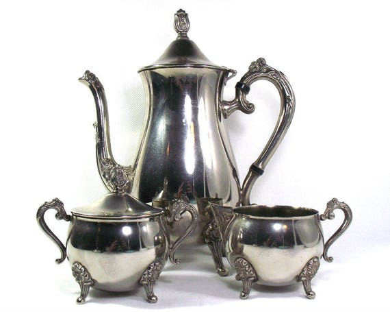 Vintage Silver Plated Coffee Set