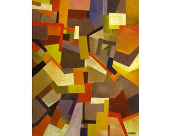 Abstract painting entropy S1