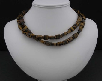 Tiger's Eye Two-Strand Necklace II