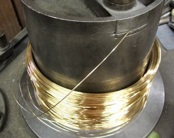 FREE SHIPPING 2 Ft 14g 14K Gold Filled Round Wire DS(15.00/Ft Includes Shipping)