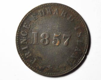 1857 Prince Edward Island Self Government and Free Trade Token Canada