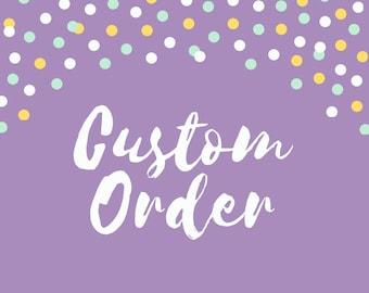Custom Pin Order